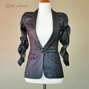 Long Blazer - Gray